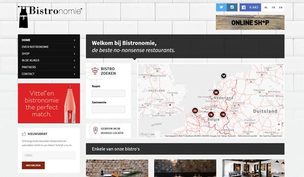 Webdesign portfolio image - Bistronomie