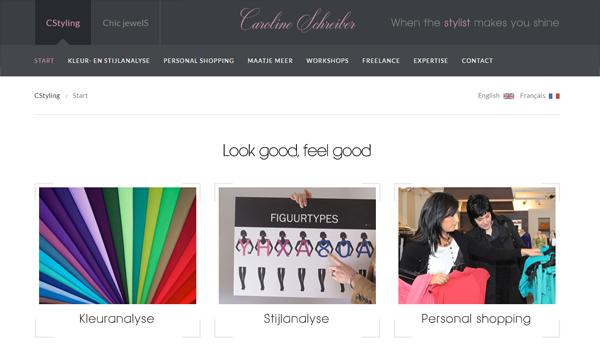 Webdesign portfolio image - CStyling