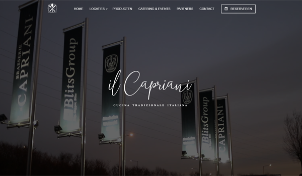 Webdesign portfolio image - Il Capriani